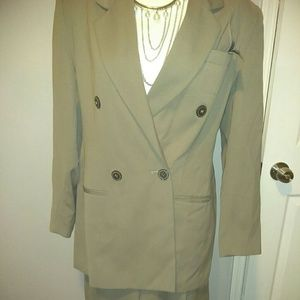 Beautiful women's dress suit